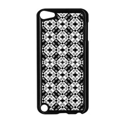 Geometric Modern Baroque Pattern Apple Ipod Touch 5 Case (black) by dflcprints
