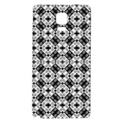 Geometric Modern Baroque Pattern Galaxy Note 4 Back Case by dflcprints