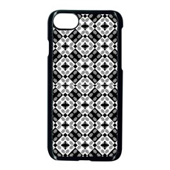 Geometric Modern Baroque Pattern Apple Iphone 7 Seamless Case (black) by dflcprints