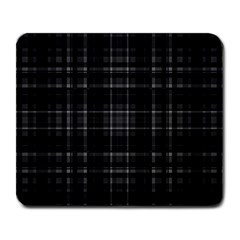 Plaid Design Large Mousepads by Valentinaart