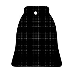Plaid Design Bell Ornament (two Sides) by Valentinaart