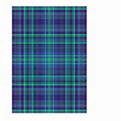 Plaid Design Large Garden Flag (two Sides) by Valentinaart