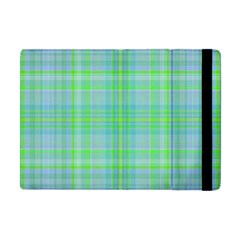 Plaid Design Apple Ipad Mini Flip Case by Valentinaart