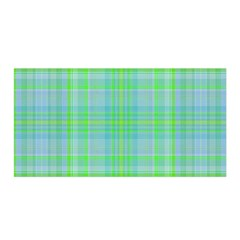 Plaid Design Satin Wrap by Valentinaart