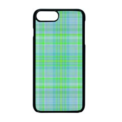 Plaid Design Apple Iphone 7 Plus Seamless Case (black) by Valentinaart