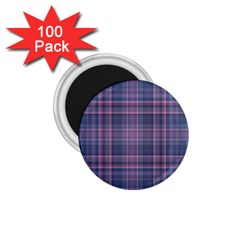 Plaid Design 1 75  Magnets (100 Pack)  by Valentinaart