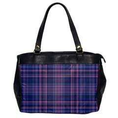 Plaid Design Office Handbags by Valentinaart