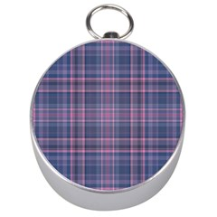 Plaid Design Silver Compasses by Valentinaart
