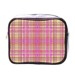 Plaid Design Mini Toiletries Bags by Valentinaart