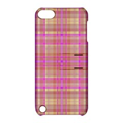 Plaid Design Apple Ipod Touch 5 Hardshell Case With Stand by Valentinaart