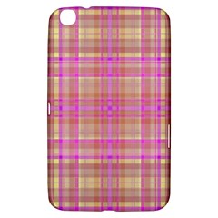 Plaid Design Samsung Galaxy Tab 3 (8 ) T3100 Hardshell Case  by Valentinaart