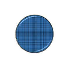 Plaid Design Hat Clip Ball Marker (4 Pack) by Valentinaart