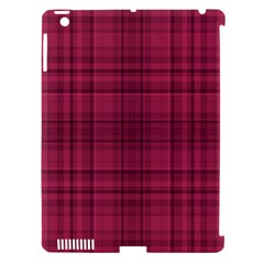 Plaid Design Apple Ipad 3/4 Hardshell Case (compatible With Smart Cover) by Valentinaart