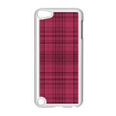 Plaid Design Apple Ipod Touch 5 Case (white) by Valentinaart