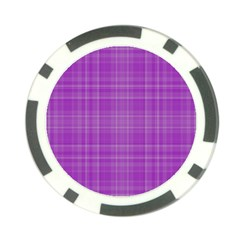 Plaid Design Poker Chip Card Guard (10 Pack) by Valentinaart