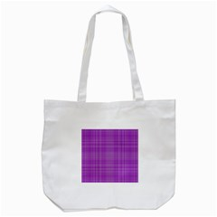 Plaid Design Tote Bag (white) by Valentinaart