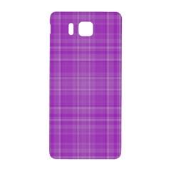 Plaid Design Samsung Galaxy Alpha Hardshell Back Case by Valentinaart