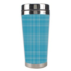 Plaid Design Stainless Steel Travel Tumblers by Valentinaart