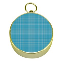 Plaid Design Gold Compasses by Valentinaart