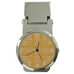 Plaid Design Money Clip Watches by Valentinaart