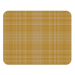 Plaid Design Double Sided Flano Blanket (large)  by Valentinaart