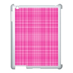 Plaid Design Apple Ipad 3/4 Case (white) by Valentinaart