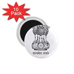 Seal Of Indian State Of Mizoram 1 75  Magnets (10 Pack)  by abbeyz71