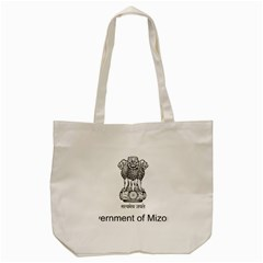 Seal Of Indian State Of Mizoram Tote Bag (cream) by abbeyz71