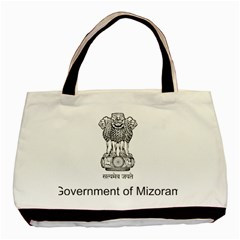 Seal Of Indian State Of Mizoram Basic Tote Bag by abbeyz71