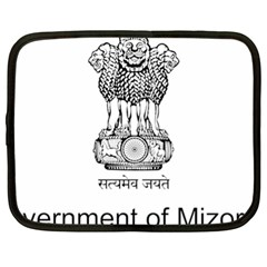 Seal Of Indian State Of Mizoram Netbook Case (xl)  by abbeyz71