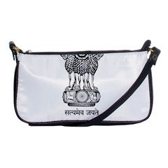 Seal Of Indian State Of Mizoram Shoulder Clutch Bags by abbeyz71