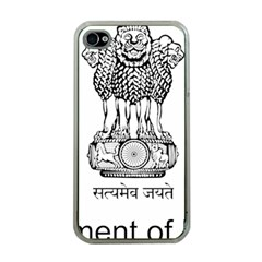 Seal Of Indian State Of Mizoram Apple Iphone 4 Case (clear) by abbeyz71