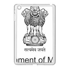 Seal Of Indian State Of Mizoram Apple Ipad Mini Case (white) by abbeyz71