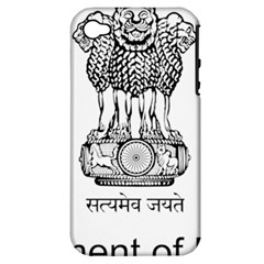 Seal Of Indian State Of Mizoram Apple Iphone 4/4s Hardshell Case (pc+silicone) by abbeyz71