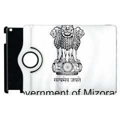 Seal Of Indian State Of Mizoram Apple Ipad 3/4 Flip 360 Case by abbeyz71