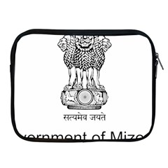 Seal Of Indian State Of Mizoram Apple Ipad 2/3/4 Zipper Cases by abbeyz71