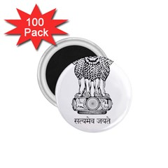 Seal Of Indian State Of Mizoram 1 75  Magnets (100 Pack)  by abbeyz71