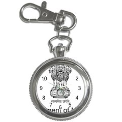 Seal Of Indian State Of Mizoram Key Chain Watches by abbeyz71