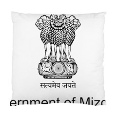 Seal Of Indian State Of Mizoram Standard Cushion Case (two Sides) by abbeyz71