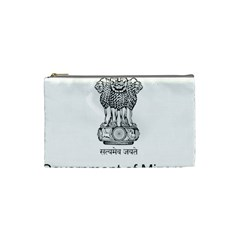Seal Of Indian State Of Mizoram Cosmetic Bag (small)  by abbeyz71