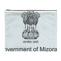 Seal Of Indian State Of Mizoram Cosmetic Bag (xl) by abbeyz71