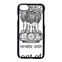 Seal Of Indian State Of Mizoram Apple Iphone 7 Seamless Case (black) by abbeyz71