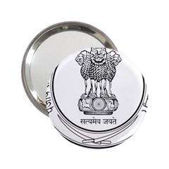 Seal Of Indian State Of Punjab 2 25  Handbag Mirrors by abbeyz71