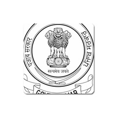 Seal Of Indian State Of Punjab Square Magnet by abbeyz71