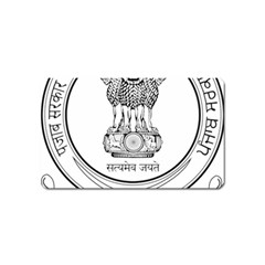Seal Of Indian State Of Punjab Magnet (name Card) by abbeyz71