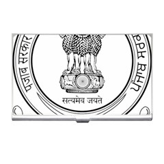 Seal Of Indian State Of Punjab Business Card Holders by abbeyz71