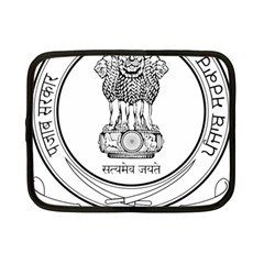 Seal Of Indian State Of Punjab Netbook Case (small)  by abbeyz71