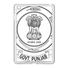 Seal Of Indian State Of Punjab Apple Ipad Mini Case (white) by abbeyz71