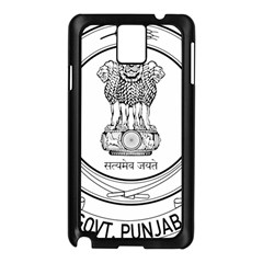 Seal Of Indian State Of Punjab Samsung Galaxy Note 3 N9005 Case (black) by abbeyz71