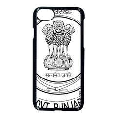 Seal Of Indian State Of Punjab Apple Iphone 7 Seamless Case (black) by abbeyz71